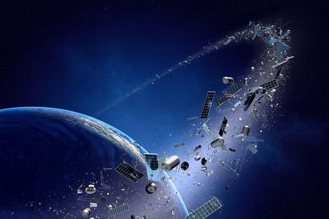 Weltraummüll: Gefahren von Weltraumschrott