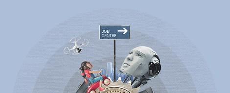 Künstliche Intelligenz am Arbeitsplatz setzt zunehmend höherqualifizierte Erwerbstätige unter Druck
