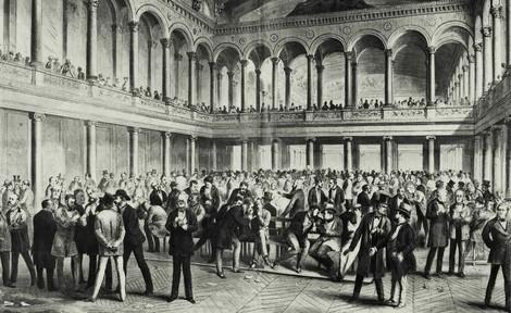 Wie 1873 ein heftiger Börsenkrach die Gründerzeit jäh beendete und jahrzehntelang nachwirkte