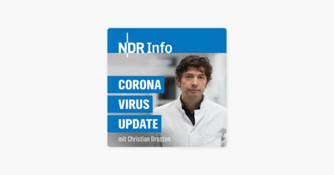 Wissenschaftsjournalismus par excellence: Corona-Virus-Update mit dem Virologen Christian Drosten