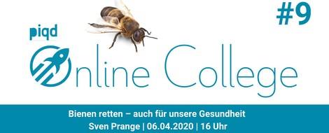 Bienen retten – auch für unsere Gesundheit (Sven Prange | 06.04.2020 | 16 Uhr)