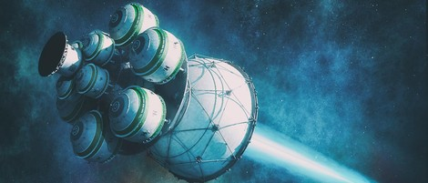 Als die Menschheit mit einem Nuklear-Raumschiff ein anderes Sonnensystem erreichen wollte ...