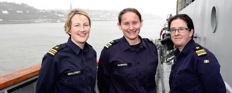 Frauen an der Flotten-Spitze