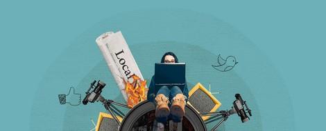 Journalismus&Netz im April: Was tun gegen Desinformation | Corona-Podcasts | Clickbait-Überschriften
