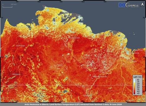 Die Arktis steht in Flammen