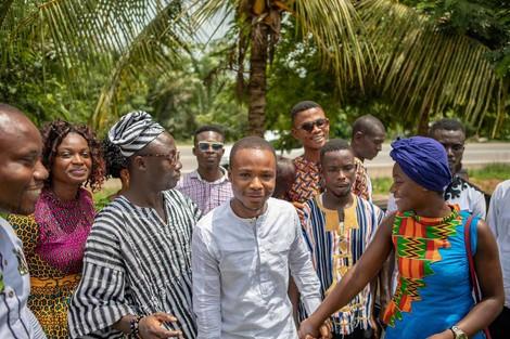 Cross boarder Corona Initiative in Ghana