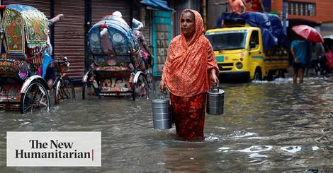 Erst ein Super-Zyklon, jetzt Überschwemmungen in Bangladesch