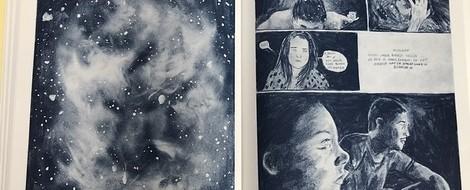 Eintauchen in eine besondere Welt. Graphic Novel von Enzo Smits.