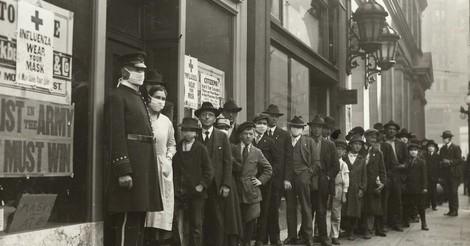 Maskentragen damals: was vor 100 Jahren in San Francisco geschah