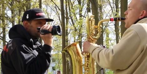 Mit Free-Jazz gegen rechtsradikale Demos