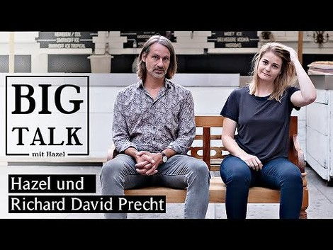 NZZ Big Talk mit Hazel Brugger & Richard David Precht