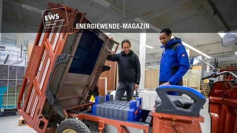 Wohin mit gebrauchten E-Auto-Batterien? Rainer Hönig hat einen Plan
