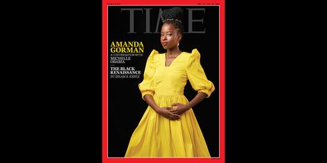 Was steckt hinter dem Amanda-Gorman-Cover des Time Magazine?