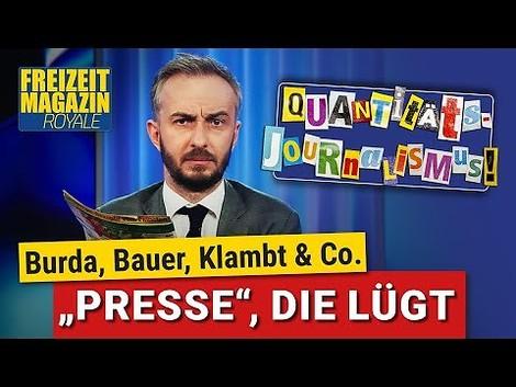 ZDF Magazin Royal: Das Geschäft der Klatsch-Presse