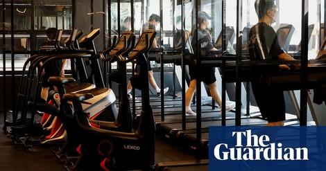Langsamere Musik in koreanischen Fitnessstudios wegen Corona