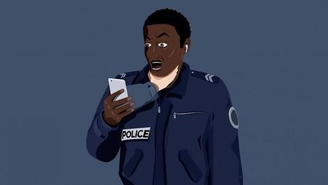 Feature mit Triggerwarnung: Rassismus bei der französischen Polizei