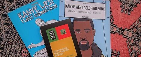 Kanye West als Bücher